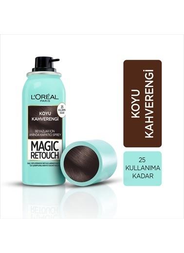 L'Oréal Paris Magıc Retouch Koyu Kahverengı Renkli